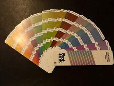 Pantone Metallic Color Guide Swatch Book Varnished And Unvarnished 1988 1989