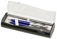 Sheaffer 100 Gift Set Ballpoint Pen Mechanical Pencil Translucent Blue (9308-9)