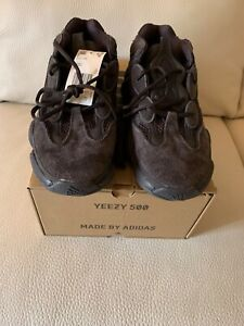 pretty nice 24c0e ba01a Details about Adidas Yeezy 500 size 9 Utility Black Dead Stock