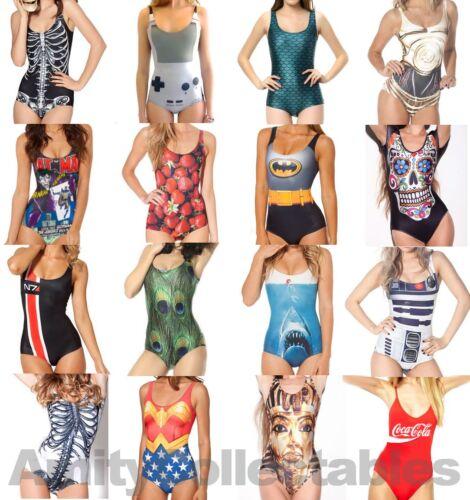 Donne Onorevoli [ ] stampato Costume Da Bagno Costumi Da Bagno, Nuoto Costume, Elastico