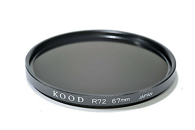 Kood 82A filtro fabricado en Japón 49mm vidrio óptico de alta calidad