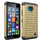 Luxury Shockproof Bling Heavy Duty Case Cover for Microsoft Nokia Lumia 640 LTE