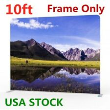 10ft Tension Fabric Display Trade Show Pop Up Exhibition Frame Us Stock