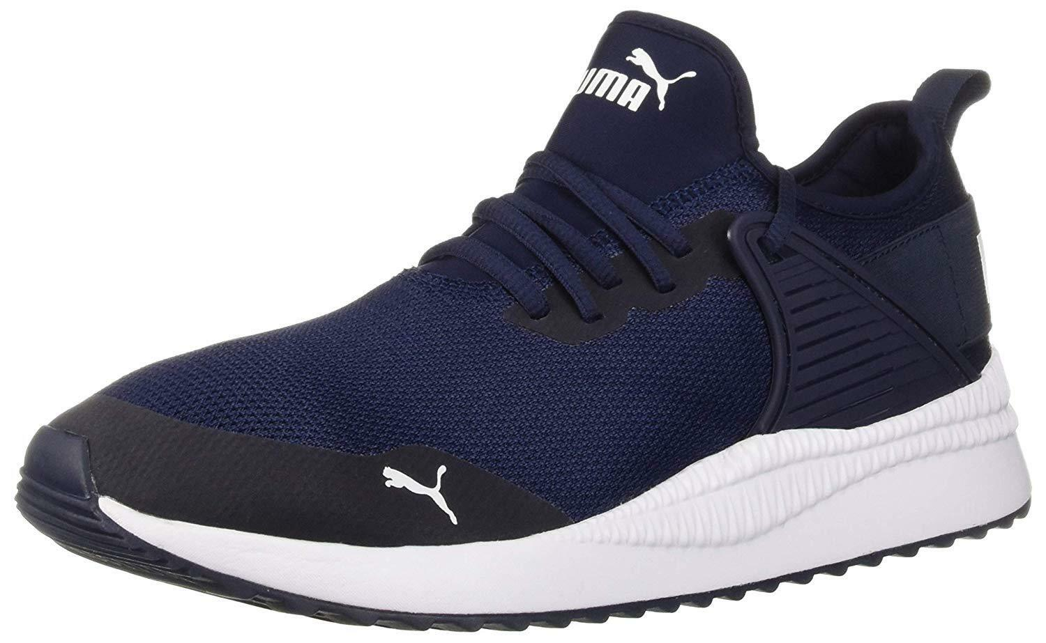 PUMA Men's Pacer Next Cage Multiknit Sneaker