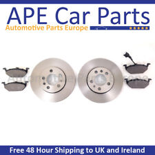 Front Brake Discs Compatible With Nissan Micra K11 93-03 1.5 D 98-00