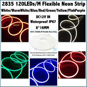 1-50Meters-IP67-DC12V-IN-LED-Light-Strip-SMD-2835-120LEDs-M-Flexible-Neon-Strip