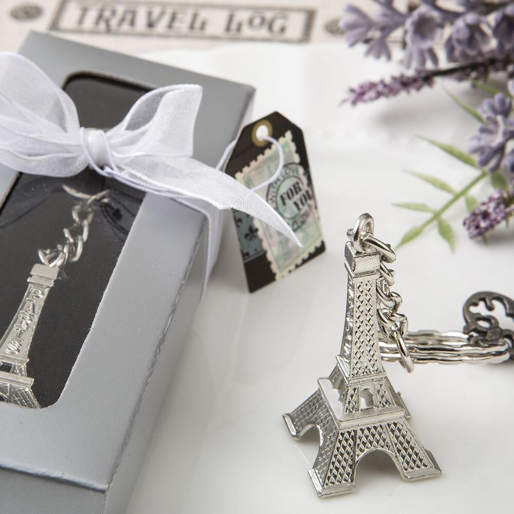 300 Tour Eiffel Porte-clés faveur mariage faveurs Bridal Shower Favor PARIS thème
