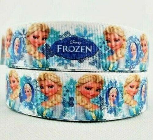 FROZEN Movie Printed Cake Bow Craft Grosgrain Ribbon UK Buy 2 Get 1 Free