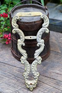 Image Is Loading Ornate Vintage Bronze Br Architectural Salvage Wall Decor