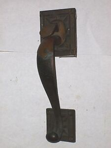 Antique Thumb Latch Door Handle Pull