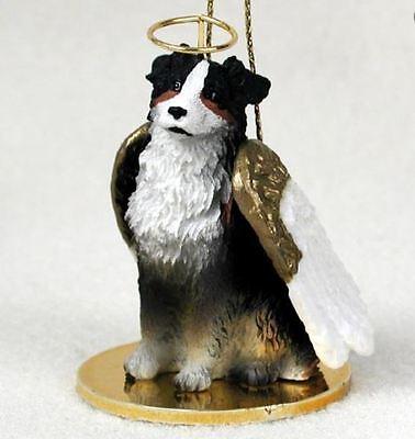 Australian Shepherd Christmas Ornament.Aussie Australian Shepherd Tri Angel Dog Christmas Ornament Holiday Figurine Ebay