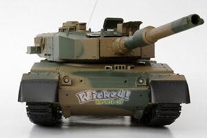 Heng Long Télécommandé Rc Militaire Armée Guerre Bataille Airsoft Bb T90 Tank