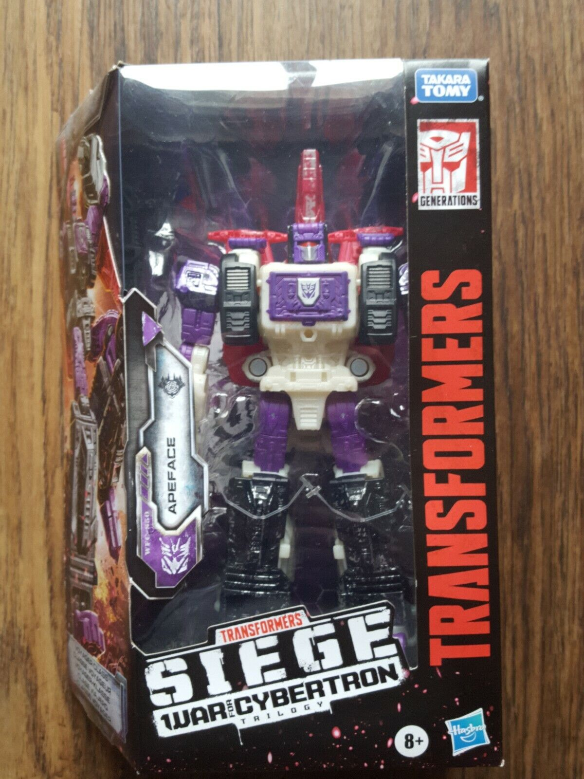 Transformers Cybertron Voyager WFC-S50 Apeface Triple Changer Action Figure