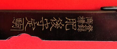 Messer Japanisch Klapp Taschen Higonokami Nagao Stahl Kohlenstoff 100mm