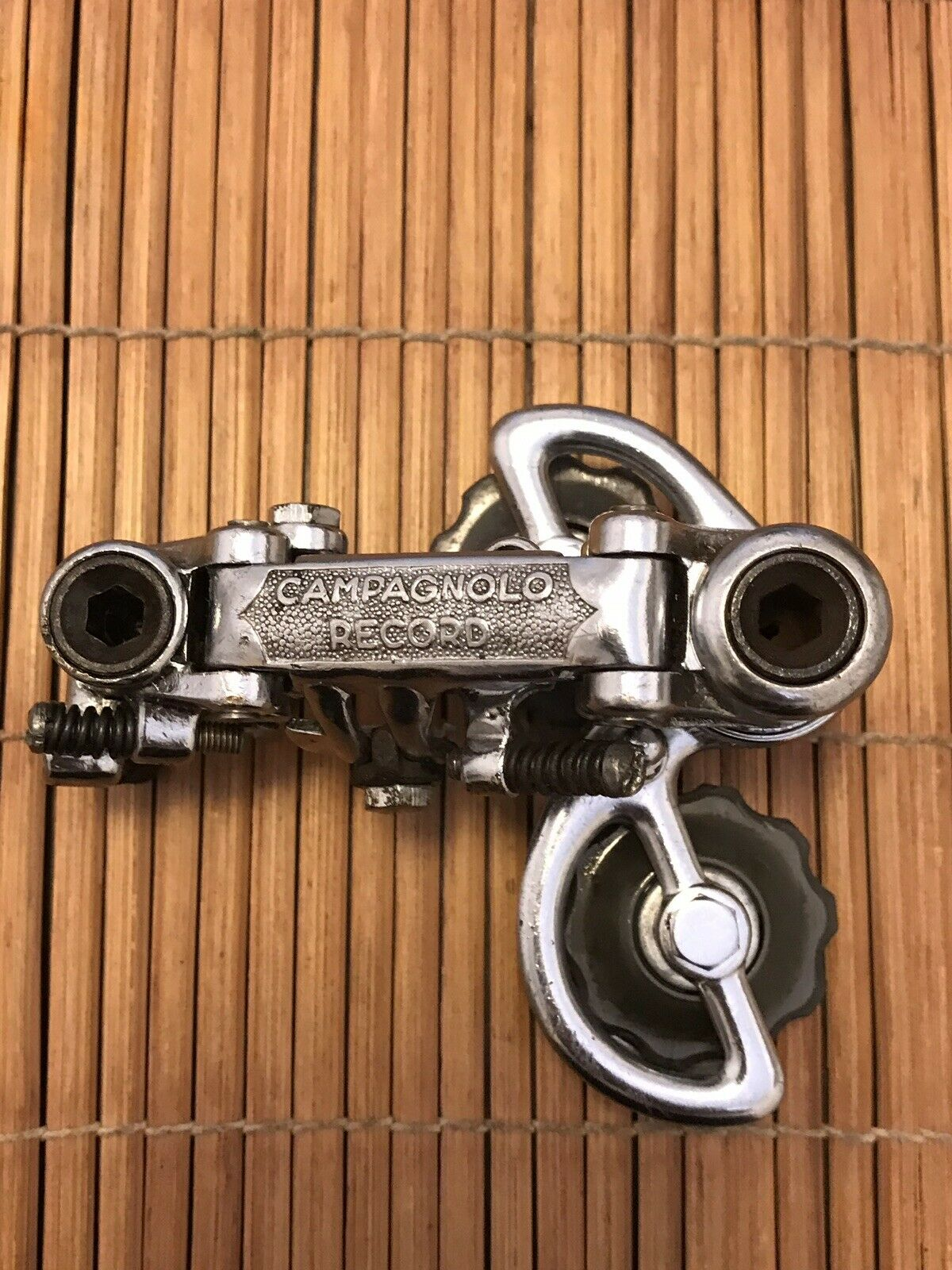 Nice Vintage 1st Generation Campagnolo Record Rear Derailleur   free shipping!