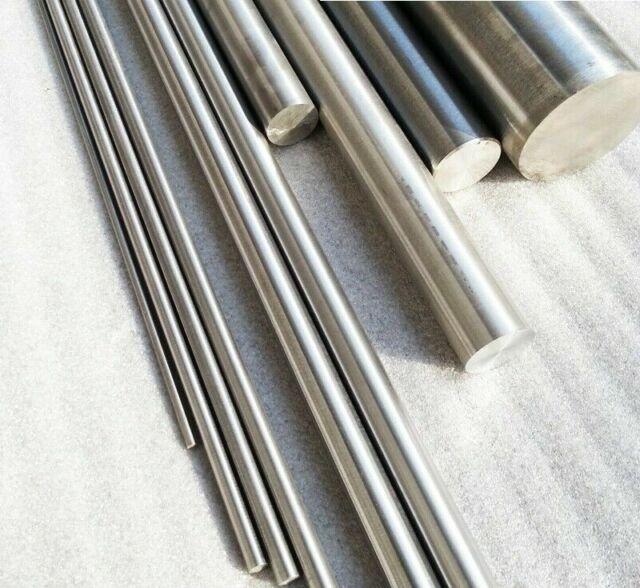 Titanium grade 5 Round Bar Rod  shaft 25mm dia x 200mm  long milling turning