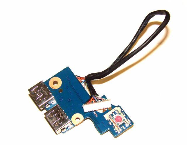 Samsung NP300E5 NP305E5 USB Power Button Board Cable  BA92-08350A BA92-10202A