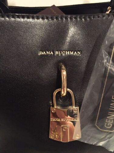 Mit 169 leder Leder Dana Schwarz Handtasche Nottinghill Satchel Buchman Aus 4wqCXA