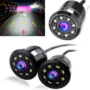 8LED-Waterproof-Car-Backup-Rear-View-Reverse-Parking-HD-Camera-Night-Vision-Cam