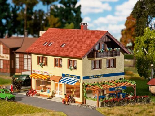H0 Metzgerei//Bäckerei Faller 130489-1//87 Neu