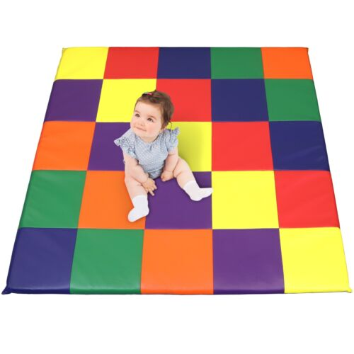 Dream Tree Kids Baby Puzzle Activity Play Mat Washable Safe Non-Toxic Soft Foam