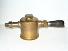 Antique 1878 1882 Sherwood Steam Engine Oiler Lubricator Solid Brass Rare