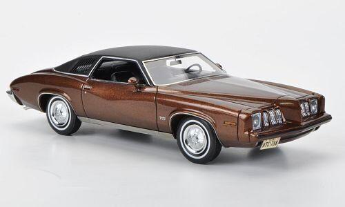 neo  1//43  Pontiac Grand Am metallic-braun//matt-schwarz 2-Door 1973