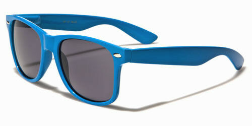 Designer Square Sunglasses Black Brown Retro Vintage UV400 Ladies Mens Boy Girl