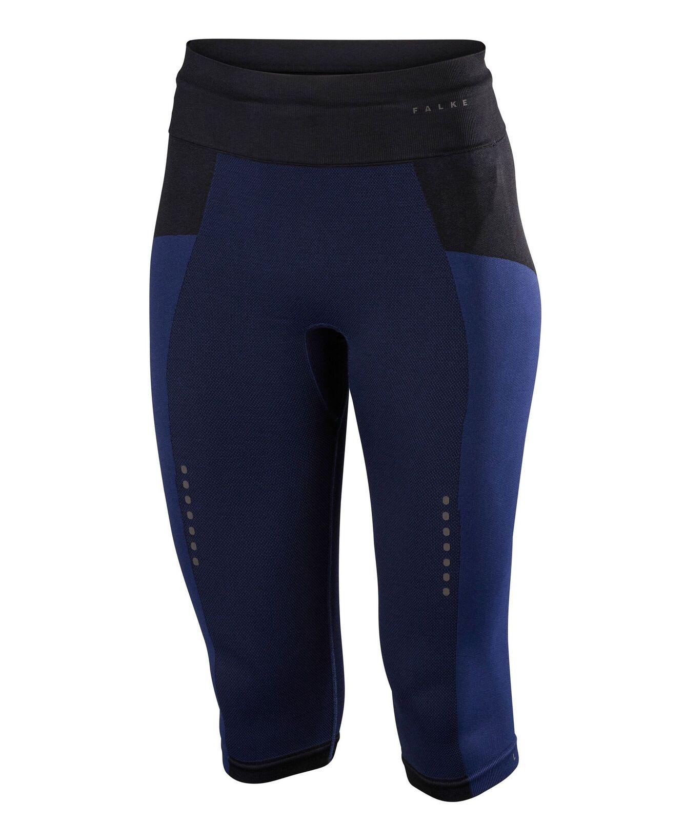 Falke Donna Pantaloni da Corsa Raffinatezza 3 4 Sportivi Fitnesshose Jogging