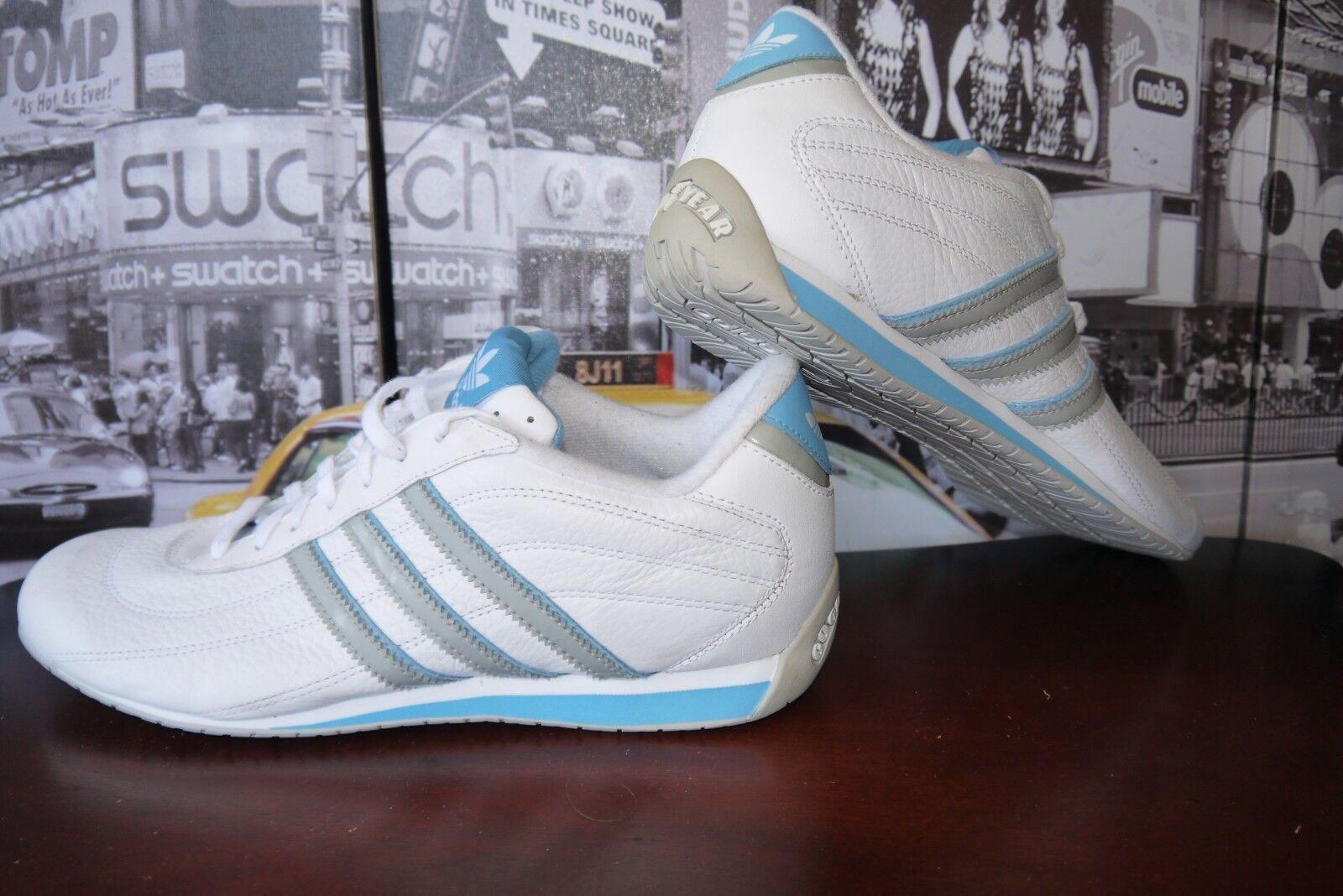 OG 2006 TEAM Adidas Jerez 3 W white Leather Good Year Sneaker women's US 10 42.5