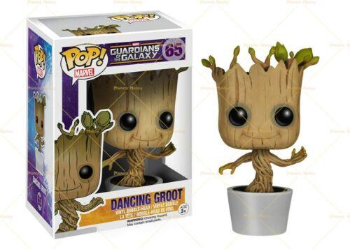 Vinyl Marvel Guardians of the Galaxy Dancing Groot Bobble-Head FUNKO Funko POP