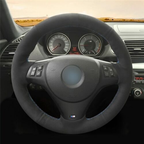 BMW E90 325i 330i 335i alcantara steering wheel cover
