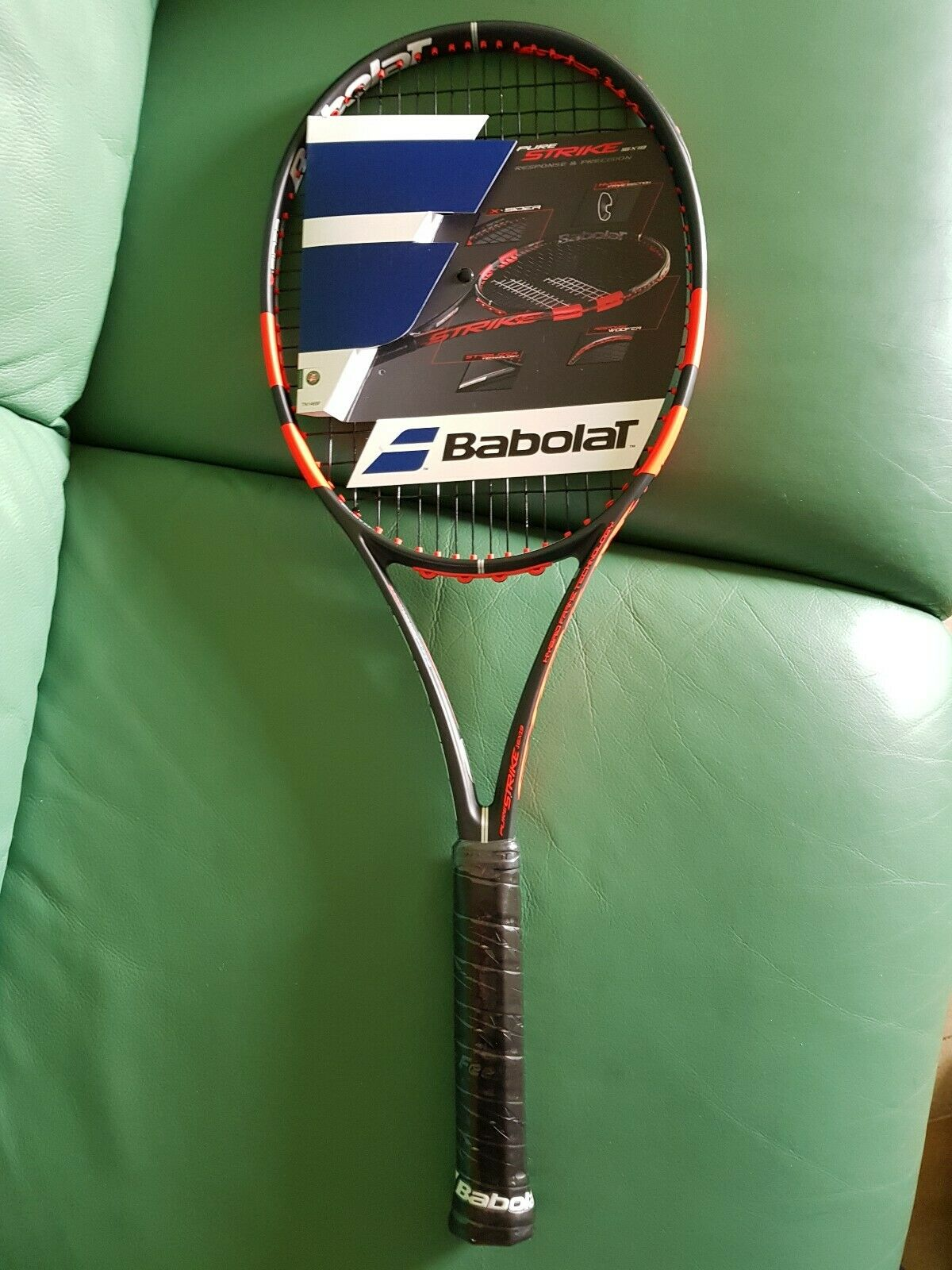 Babolat pure strike 98 (16x19)4 1 2 L4,tennis racquet