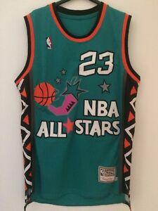 Canotta-nba-basket-maglia-Michael-Jordan-jersey-All-Star-Game-1996-New-S-M-L-XL