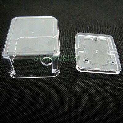 Clear Acrylic Shell Case Cover Set for Hand Crank Movement Music Box Jewelry DIY
