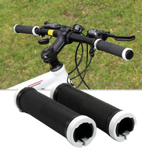 1Pair Mountain Bike Handle Bar Grips Double Lock On MTB BMX Bicycle Cycling
