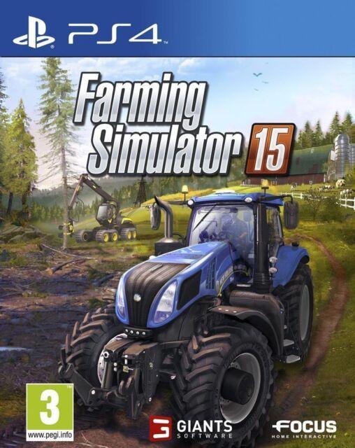 FARMING SIMULATOR 15 JEU PS4 NEUF