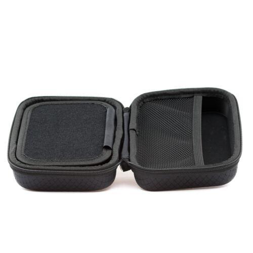 Negro Duro Funda De Transporte Para Garmin Camper 770 LMT-D 760 con almacenamiento de accesorios