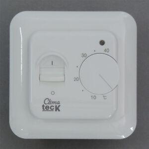 up regler cu518 thermostat elektrische fu bodenheizung ebay. Black Bedroom Furniture Sets. Home Design Ideas