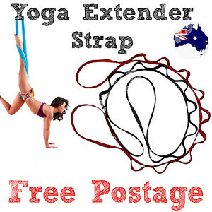 2x-YOGA-SLING-STRAPS-SWING-PILATES-AERIAL-INVERSION-GYM-HAMMOCK-ANTI-GRAVITY