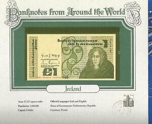 World Banknotes Ireland 10-07-1984 1 pound UNC P 70c UNC Low DKI 004046