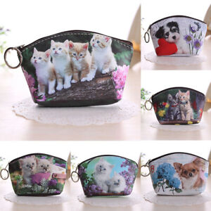 KQ-Fashion-Lady-Dog-Cat-Pet-Faux-Leather-Clutchs-Short-Coin-Purse-Wallet-Gift