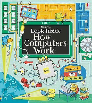 """1 of 1 - """"VERY GOOD"""" Alex Frith, Look Inside How Computers Work (Look Inside Board Books)"""