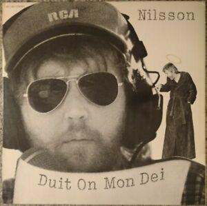 "(Harry) NILSSON ""Duit On Mon Dei""  1975 PROMO LP  Gatefold"