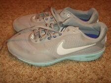 Nike Womens NK Free XT Everyday Fit Gray Light Blue 429844-101 Womens Size 9.5