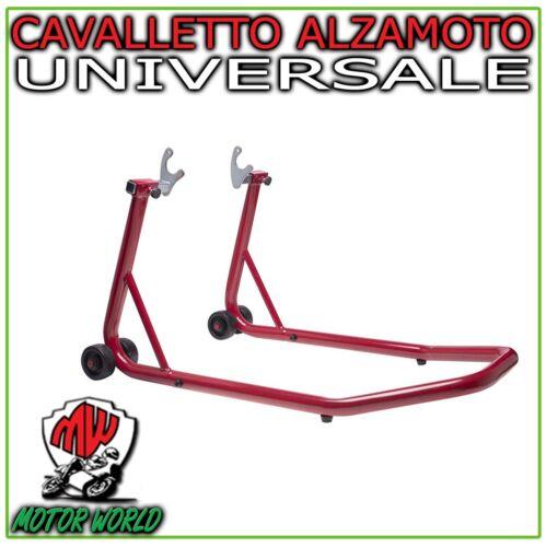 Cavalletto Alza Solleva Moto Posteriore Regolabile Adattatore FORCA Universale
