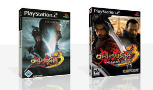 Onimusha-3-Demon-Siege-PS2-Replacement-Spare-Game-Case-Box-Cover-Art-No-Game