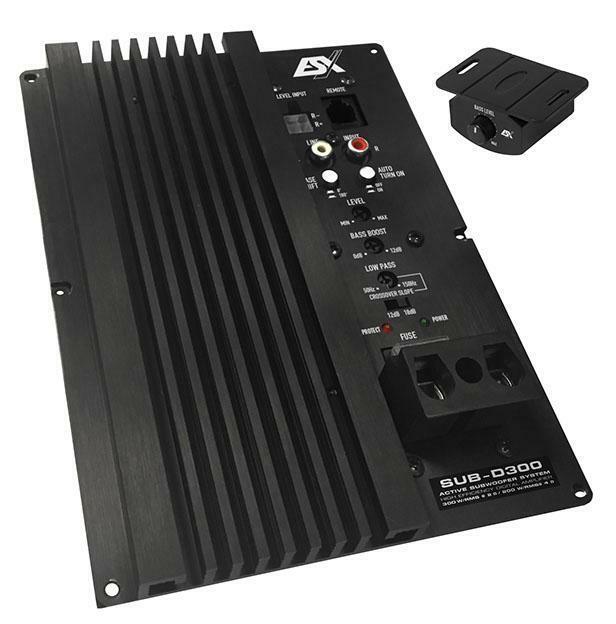 ESX SUB-D300 Visión Módulo Activo Clase D Verstärker-modul Für Subwoofer-Gehäuse