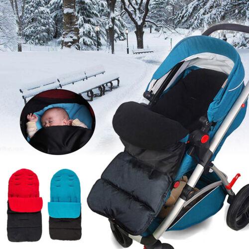 Universal Winter Fußsack für Kinderwagen Sportwagen Buggy Thermo Fleece Fußsack