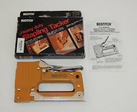 In Box Bostitch Stapling Tacker T15 Autumn Gold R10710